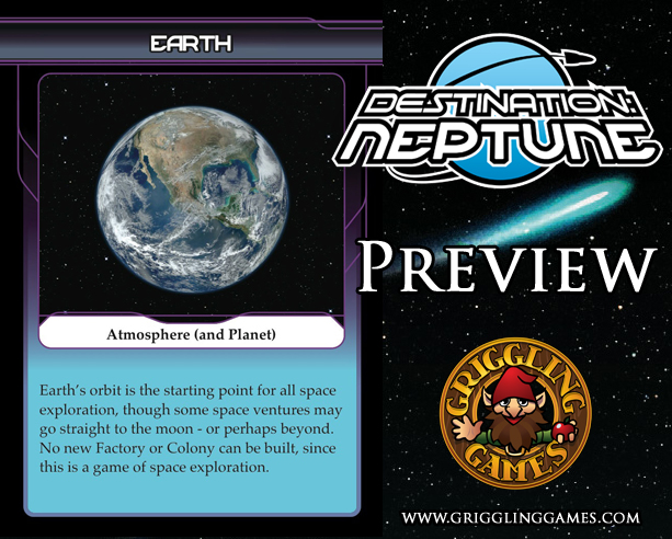 Destination: Neptune Preview - Earth's Atmosphere Card