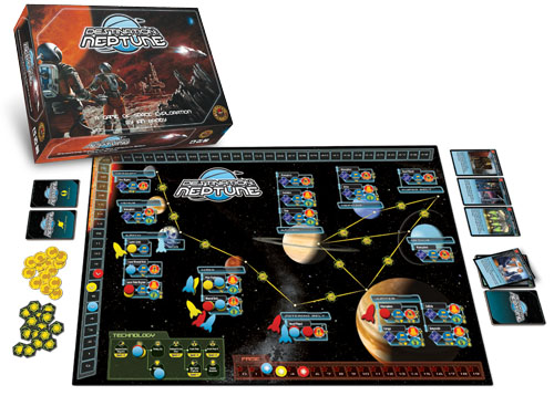Destination: Neptune Board Game
