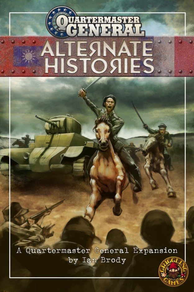 Quartermaster General: Alternate Histories box