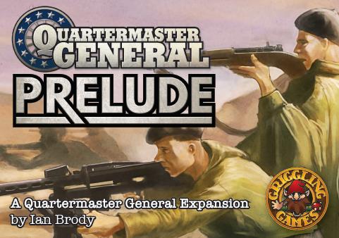 Quartermaster General: Prelude Expansion KickStarter link